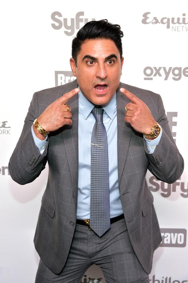 Reza Farahan, NBC Upfronts