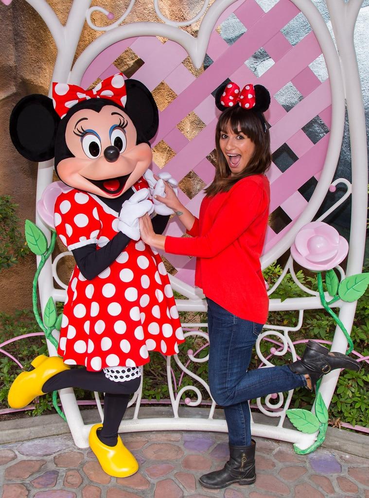 Lea Michele, Disneyland