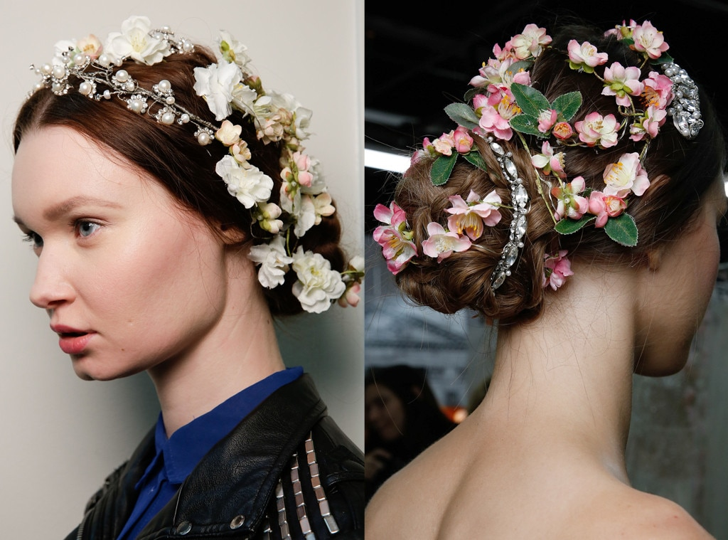 Wedding hair: the best bridal inspiration from the catwalk ...