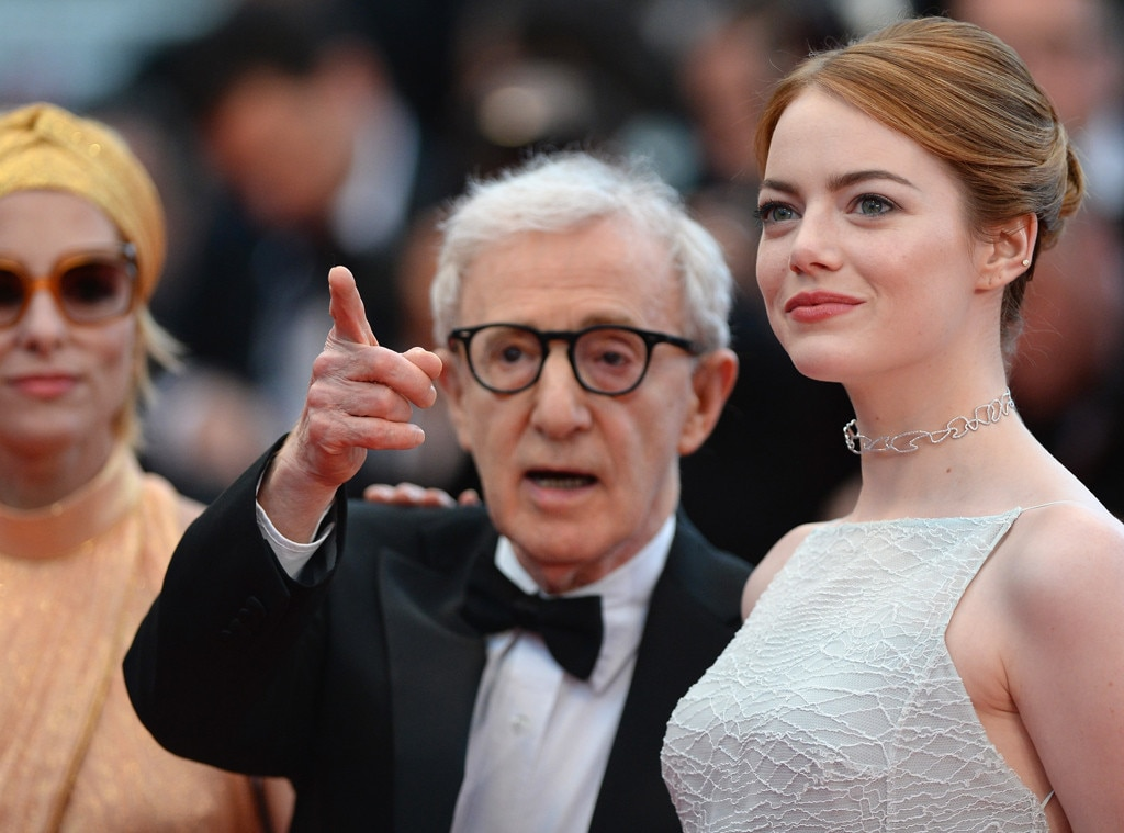 Woody Allen, Emma Stone, Cannes