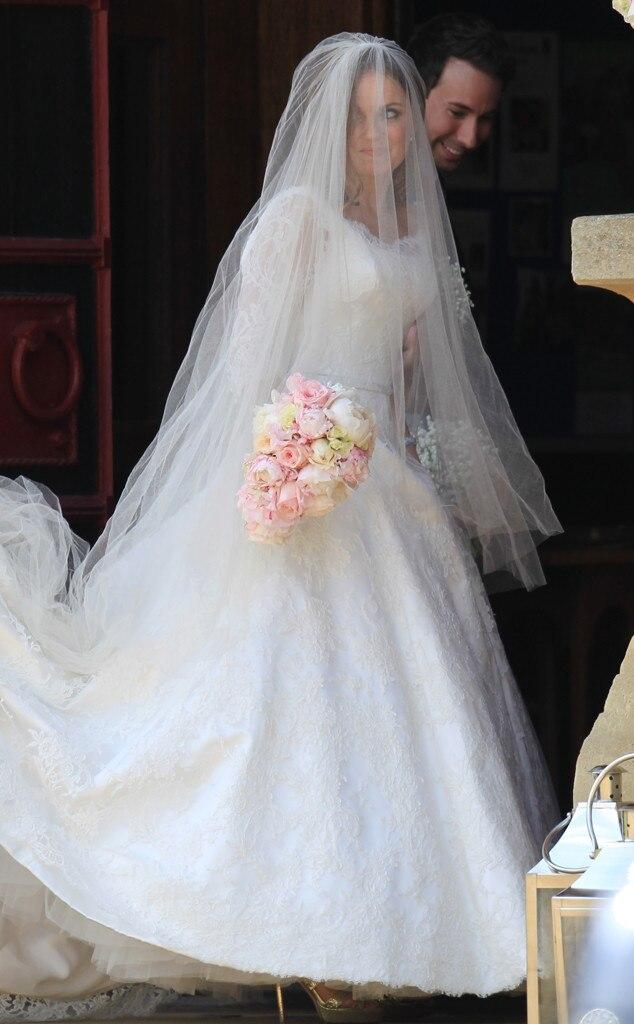 Christian horner geri halliwell wedding dress