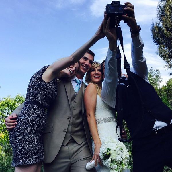 Heather Morris Instagram Wedding