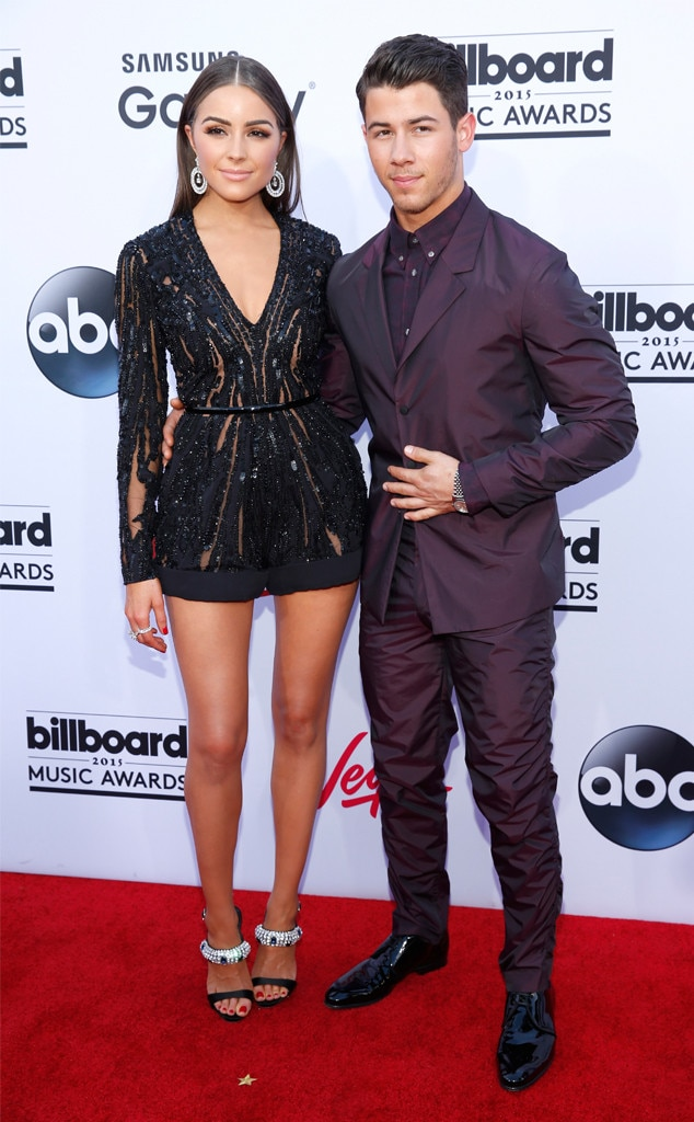Olivia Culpo, Nick Jonas, Billboard Music Awards 2015