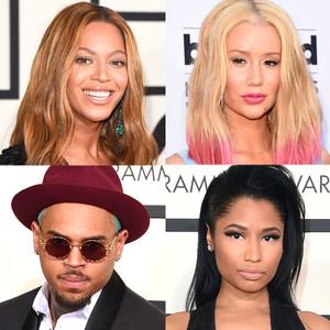 BET Nominations, Beyonce, Iggy Azalea, Chris Brown, Nicki Minaj