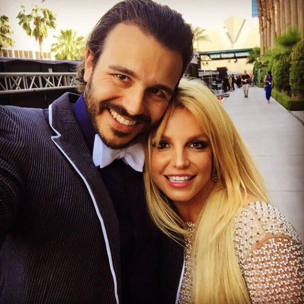 Charlie Ebersol, Britney Spears, Instagram