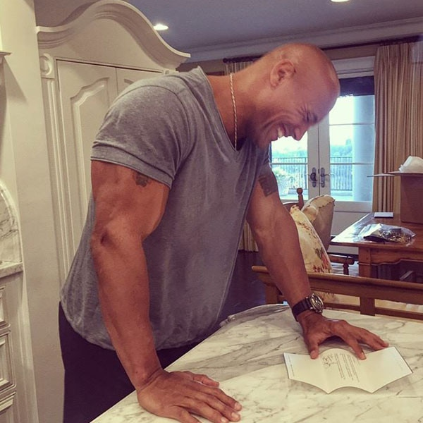 The Rock, Dwayne Johnson, Facebook
