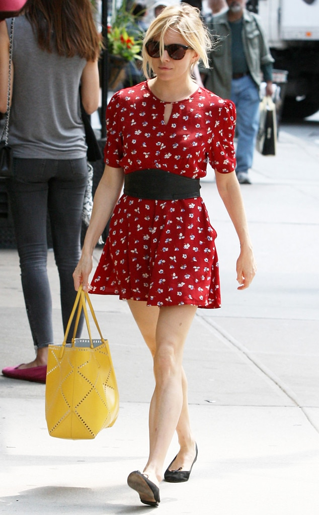 Minnie Mouse From Sienna Miller 39 S Street Style E News