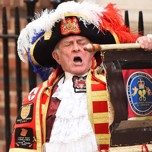 Town Crier, Kate Middleton, Prince William, Royal Baby Birth Announcement