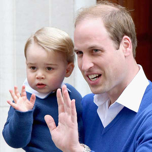 Prince William, Duke of Cambridge, Prince George