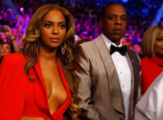 Beyonce, Jay-Z, Manny Pacquiao, Floyd Mayweather Jr. Fight