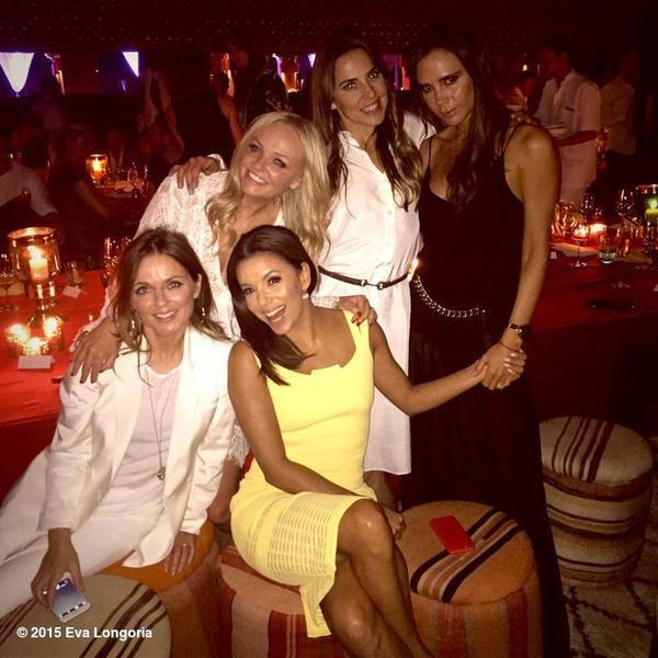 Eva Longoria, Spice Girls