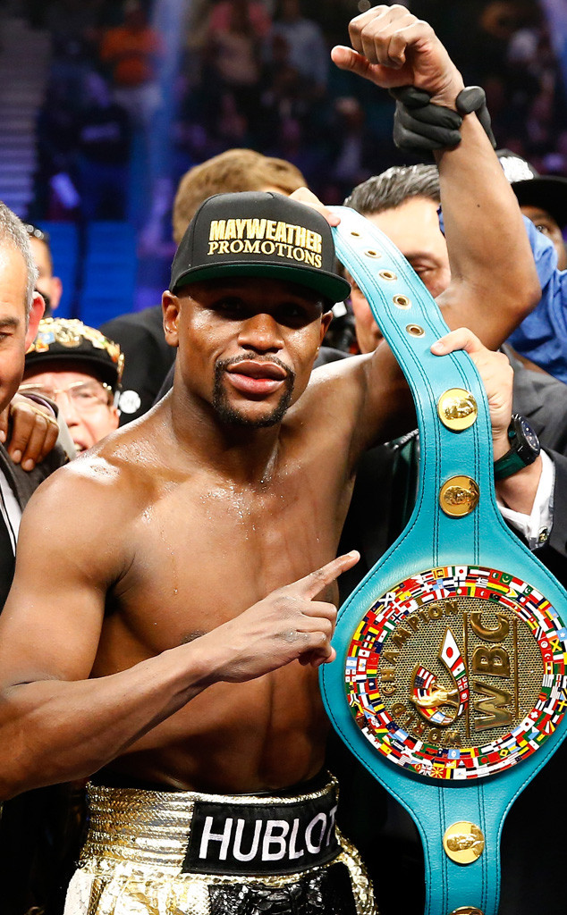 Floyd Mayweather Jr., Boxing Fight