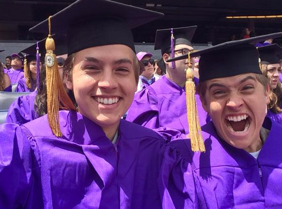 Dylan Sprouse, Cole Sprouse, Graduation, NYU