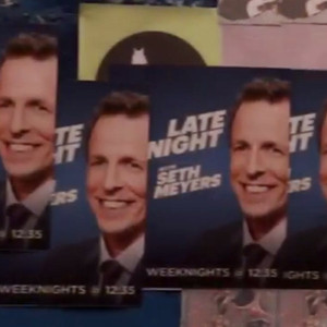 Seth Meyers, David Letterman Late Night
