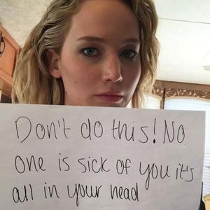 Jennifer Lawrence, Facebook