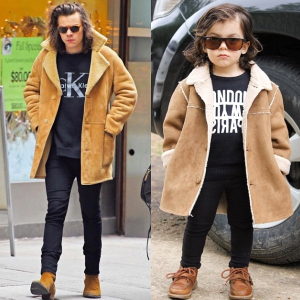 This 2 Year Old Boy Dresses Just Like Harry Styles And He