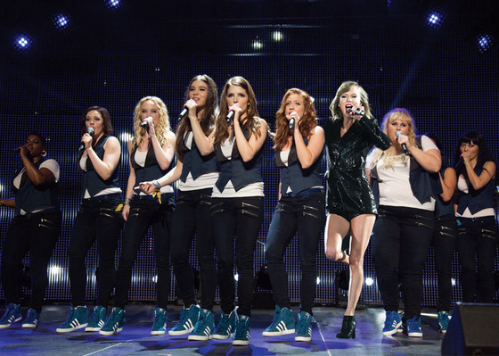Pitch Perfect 2, Taylor Swift