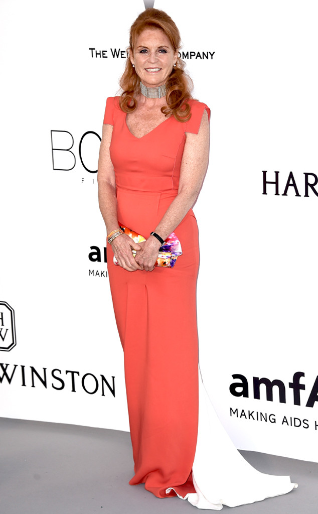 Sarah Ferguson, Duchess of York, amfAR, Cannes