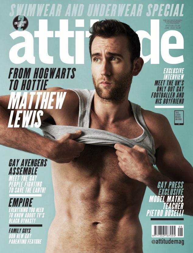 Matthew Lewis, Attitude Magazine