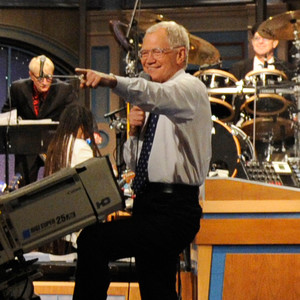 Late Show with David Letterman Set