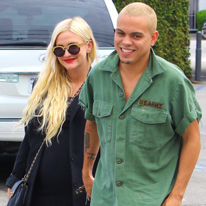 Evan Ross, Ashlee Simpson