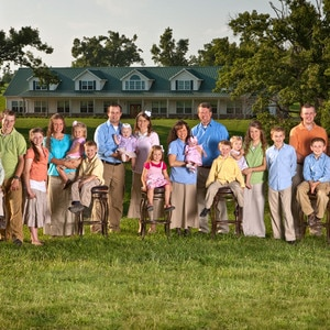 The Complete Duggar Family Tree