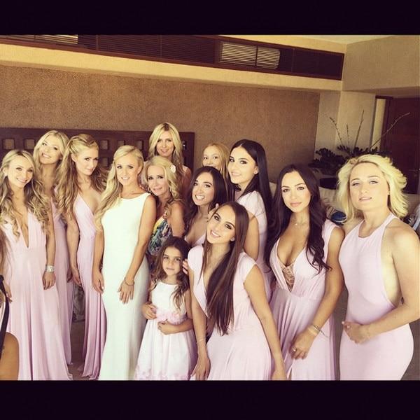 Kyle richards family wedding