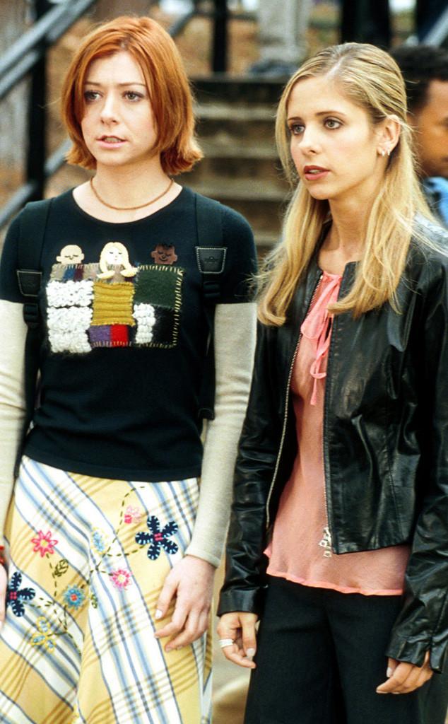 Buffy the Vampire Slayer, Alyson Hannigan, Sarah Michelle Gellar