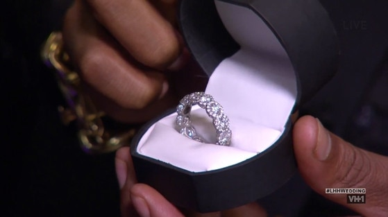 Yandy, Mendeecees, Love and Hip Hop ring