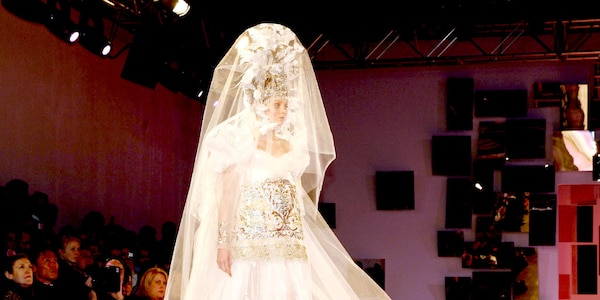 Christian Lacroix, 2007 from Most Show-Stopping Wedding Gowns Ever ...