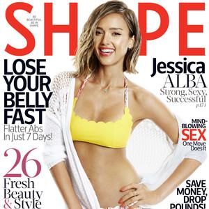 Jessica Alba, Shape Magazine