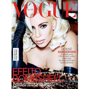 Kim Kardashian, Vogue Brazil