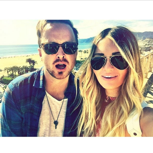 Aaron Paul, Lauren Pau...
