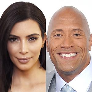 Dwayne Johnson, Kim Kardashian
