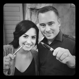 Demi Lovato, Phil McIntyre, Instagram