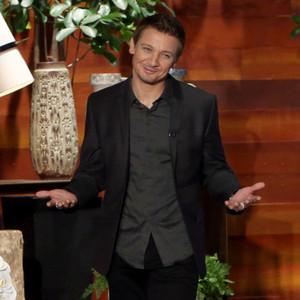 Jeremy Renner, Ellen DeGeneres