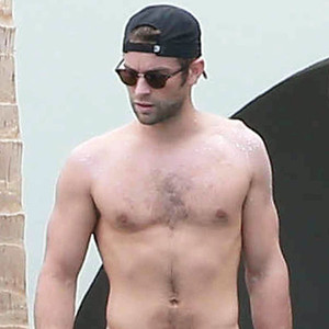 Chace Crawford, Shirtless, Mexico