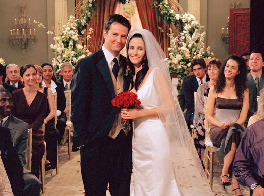 Friends Wedding, Courteney Cox, Mathew Perry, TV Weddings
