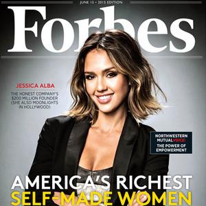 Jessica Alba, Forbes Magazine
