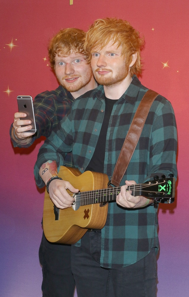 Ed Sheeran, Madame Tussauds Wax Figure