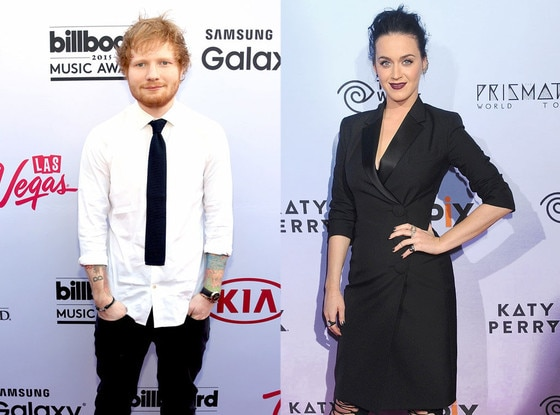 Ed Sheeran, Katy Perry