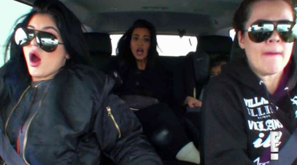 Keeping Up With The Kardashians Season  Car Accident
