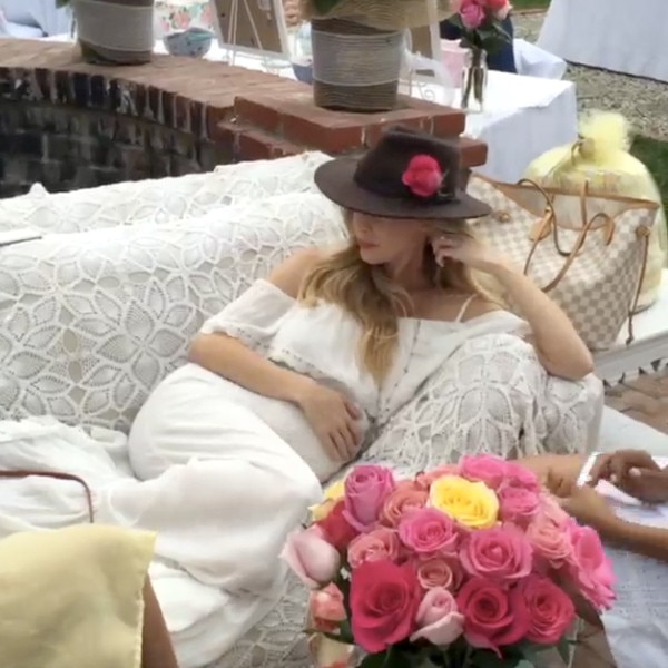 Pregnant Leah Jenner and Brandon Jenner Enjoy Delightful Baby Shower Filled With Warmth and ...