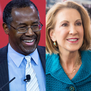 Ben Carson, Carly Fiorina, 2016 Presidential Candidates
