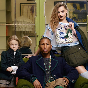 Cara Delevingne, Pharrell Williams, Chanel