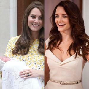 Kate Middleton, Catherine, Duchess of Cambridge, Royal Baby, Princess Charlotte, Kristin Davis, SATC