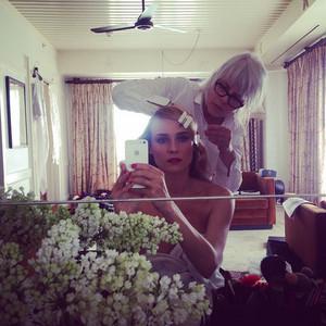 Diane Kruger, Instagram