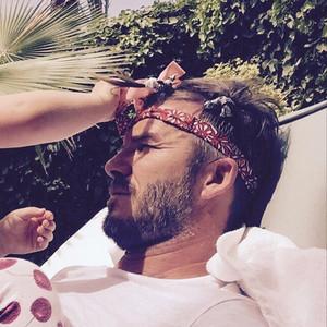 David Beckham, Birthday, Instagram