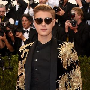 Justin Bieber, Met Gala 2015