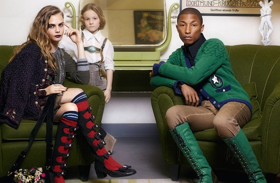 Cara Delevingne is Teaming Up With Pharrell For Her FirstSingle